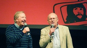 Tim Brooke-Taylor and Graeme Garden. Photo: Cotton Ward
